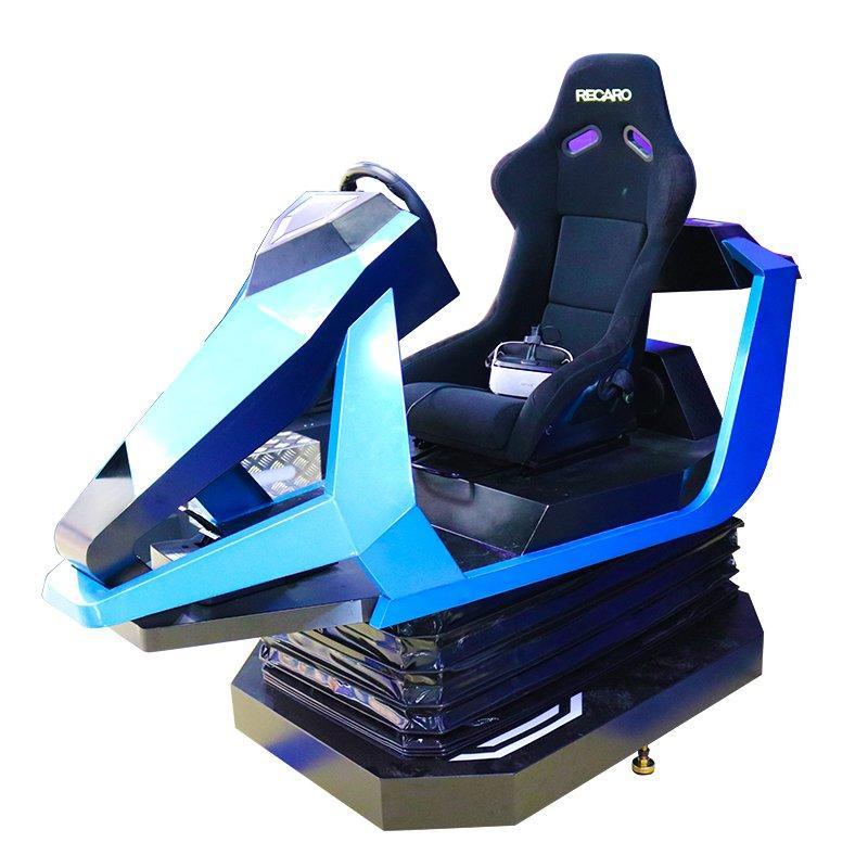 Full Motion VR Car Racing Simulator