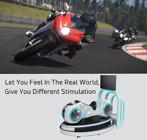 VR Motorbike For Competitive Racing Game