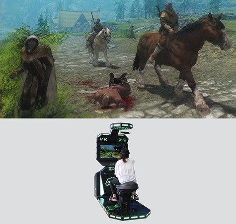 VR Horse riding simulator
