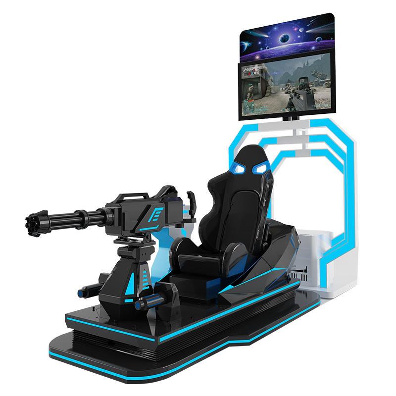 9D VR For Gun Shooting Game