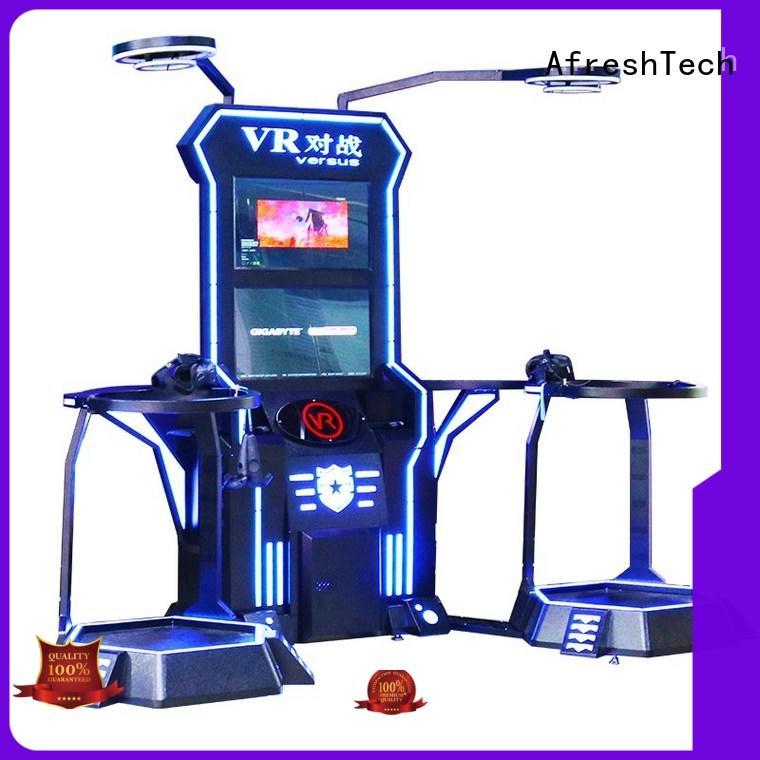 AfreshTech entertainment vive vr games manufacturer for Shopping mall