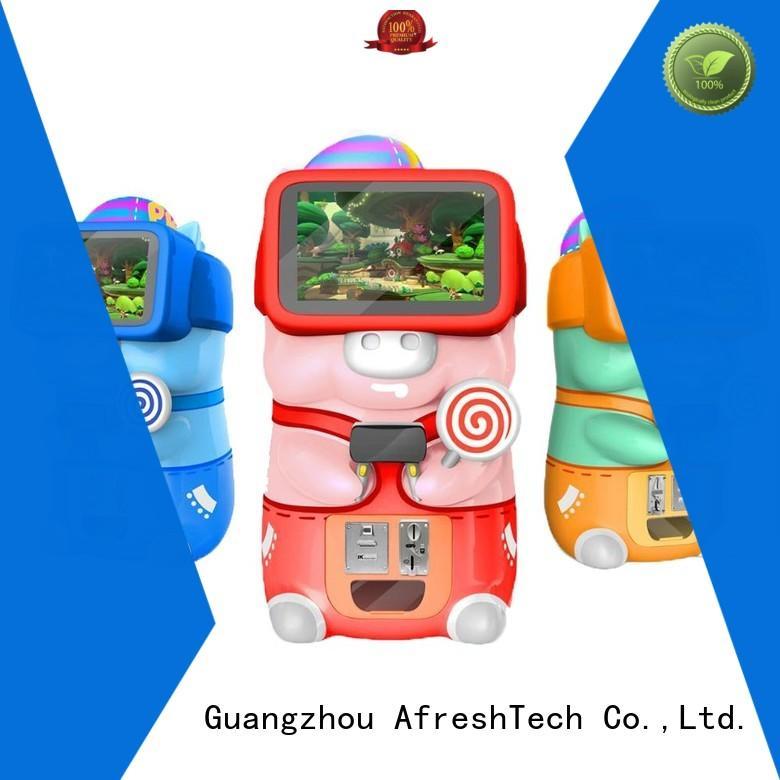 AfreshTech athletic vr game machine for children for supermarket