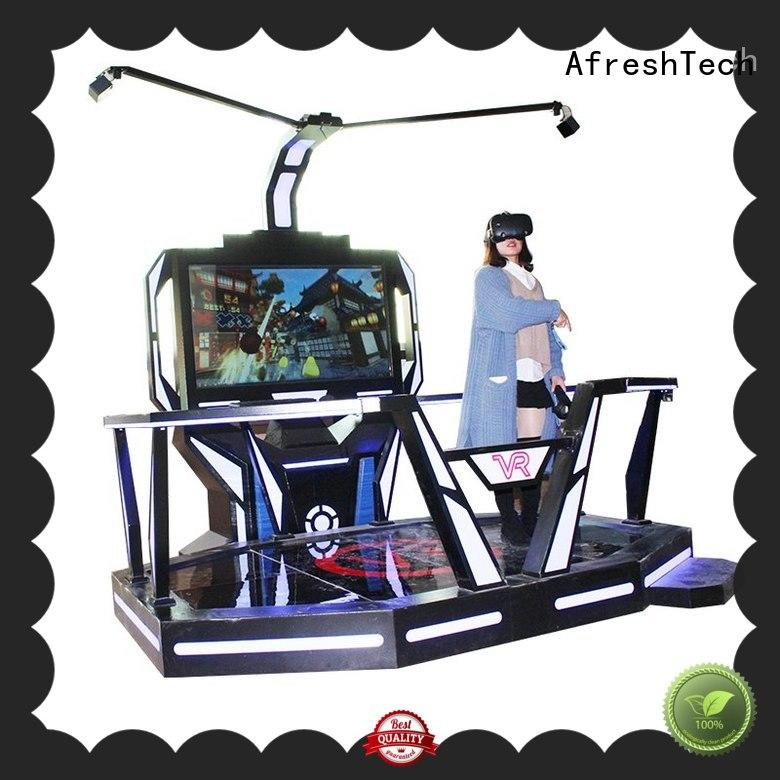 AfreshTech vr space different experience for Amusement park