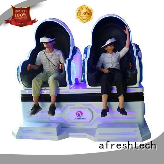 AfreshTech cinema 9d different experience for game centre