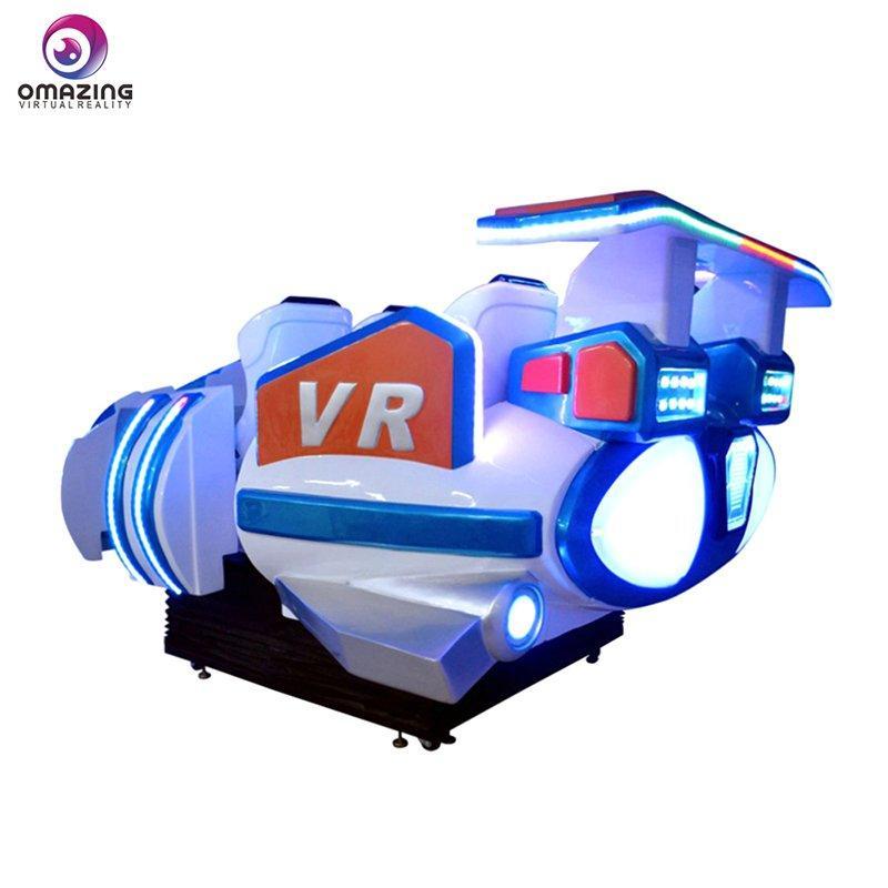 6 Seats 9D Simulator 360 Degrees Viewing