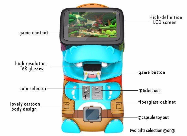 9D Children VR Game Machine-2