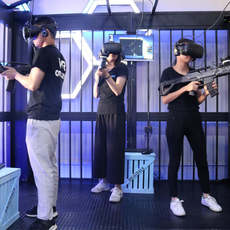 Multiplayer VR Shooting