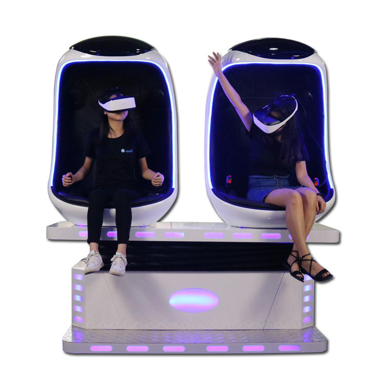 9D vr cinema for 2 chairs
