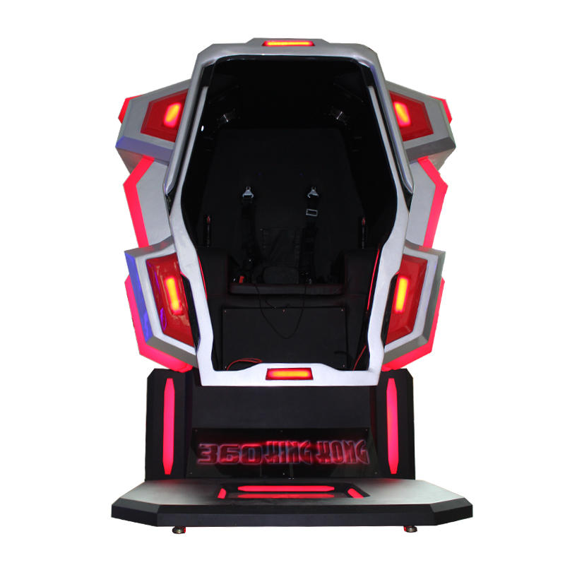 360 Degrees Rotating VR Simulator