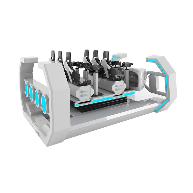 9D Simulator Cinema For 6 Seats