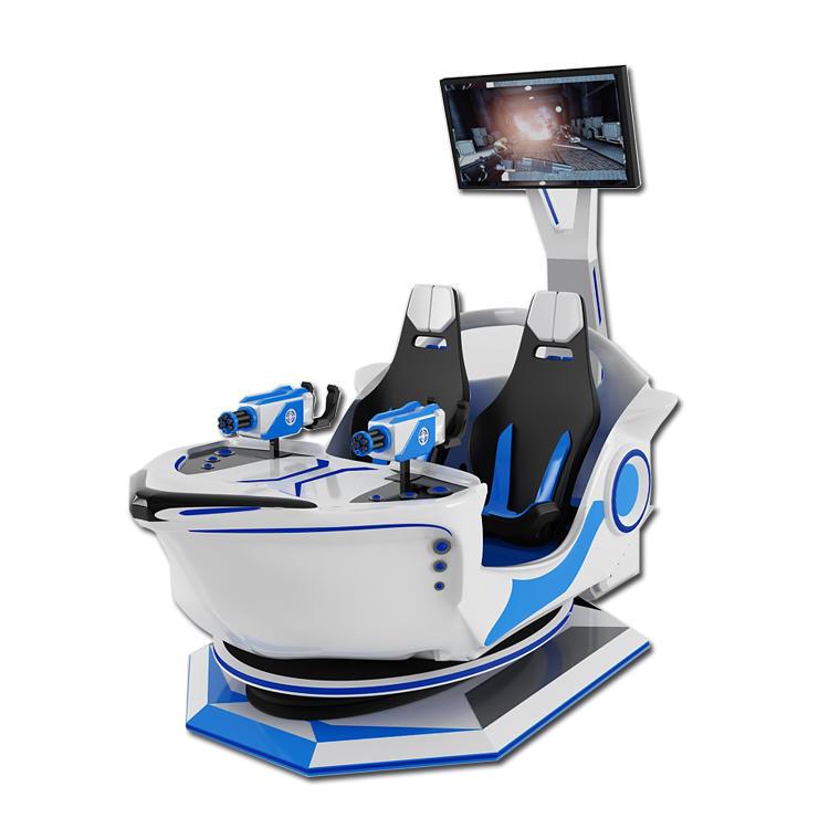 Pirate Boat Shooting VR Simulator