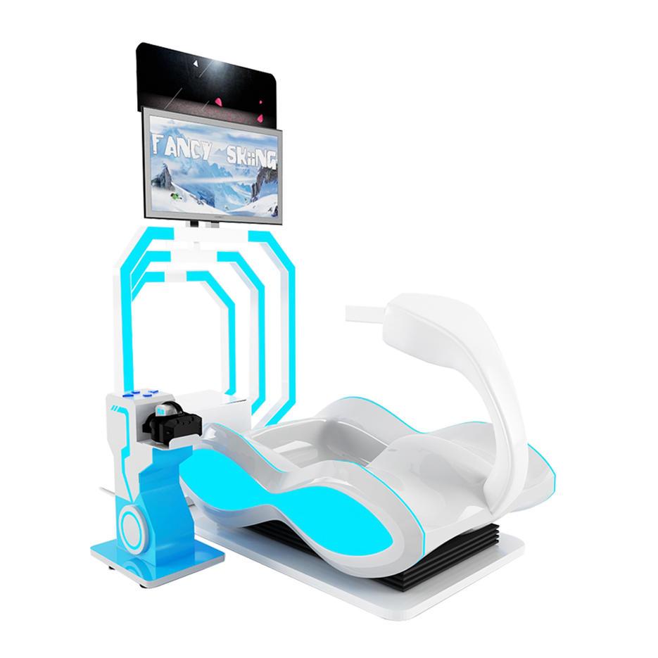 Skiing Race VR Simulator Machine