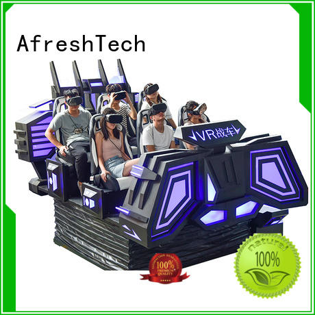 AfreshTech professional 9dvr simulator different experience for amusement VR