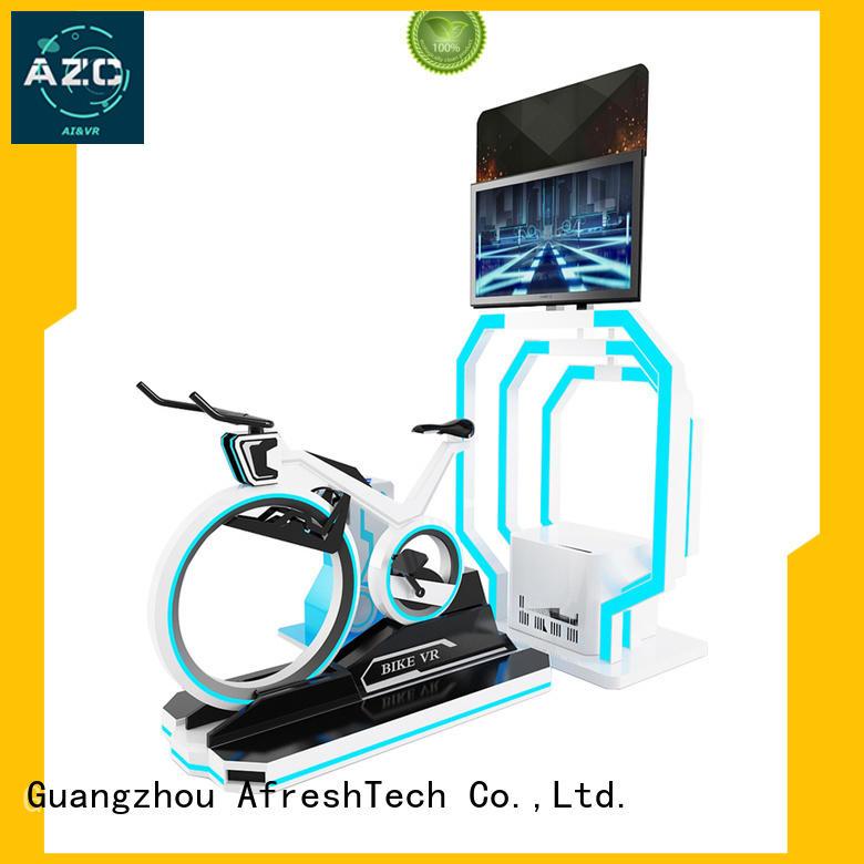 AfreshTech athletic vr racing simulator for sale for hotel