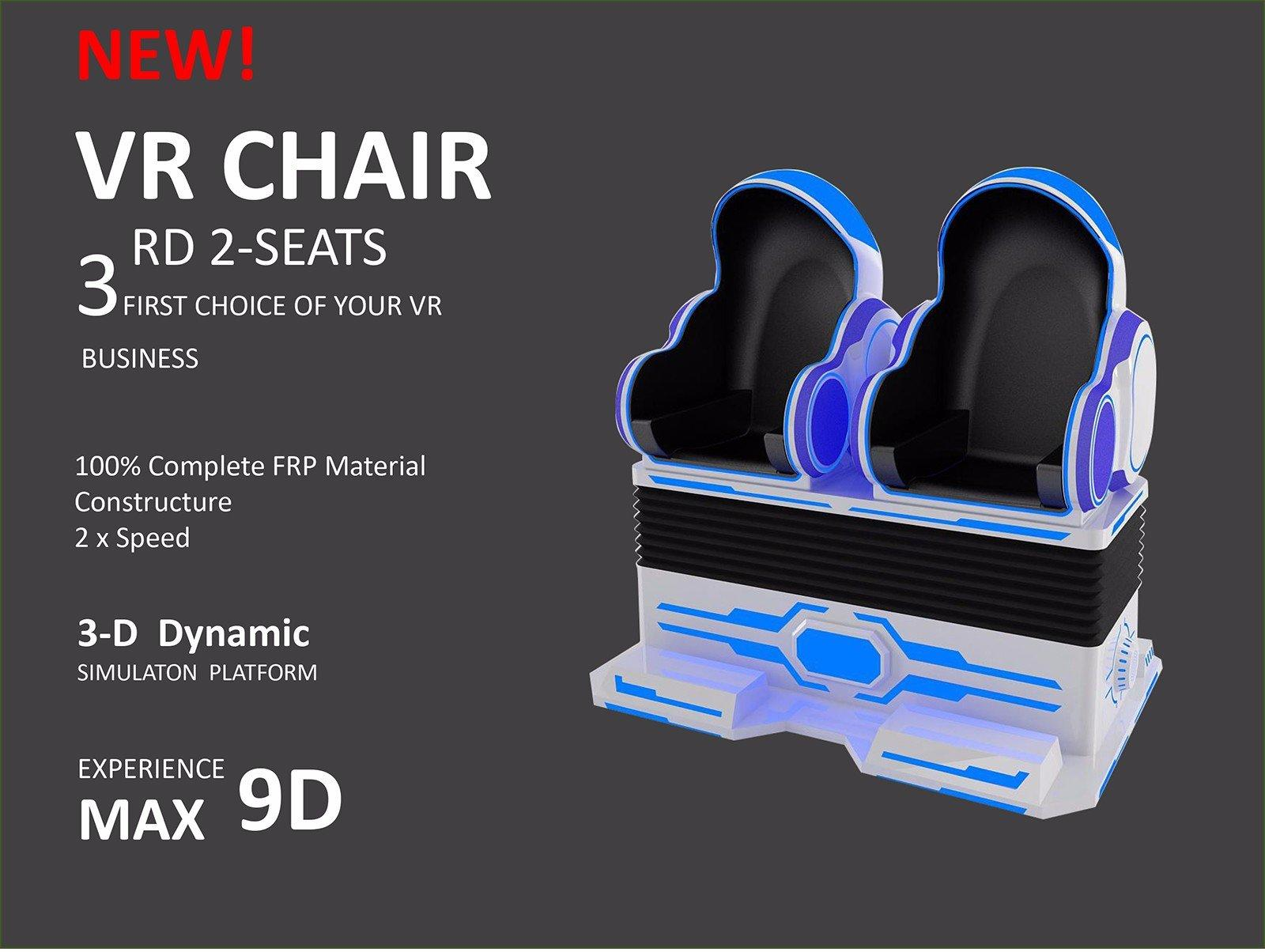 9D vr cinema for motion chair-3