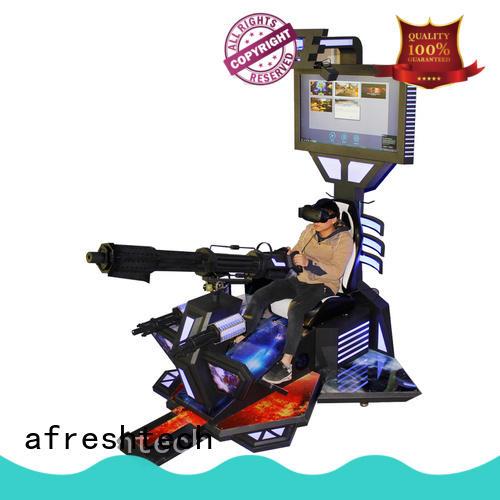 arcade shooting virtual reality for theme park