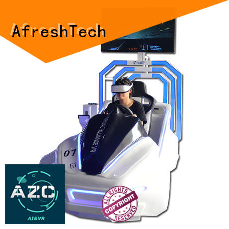 AfreshTech vr racing chair realistic experience for hotel