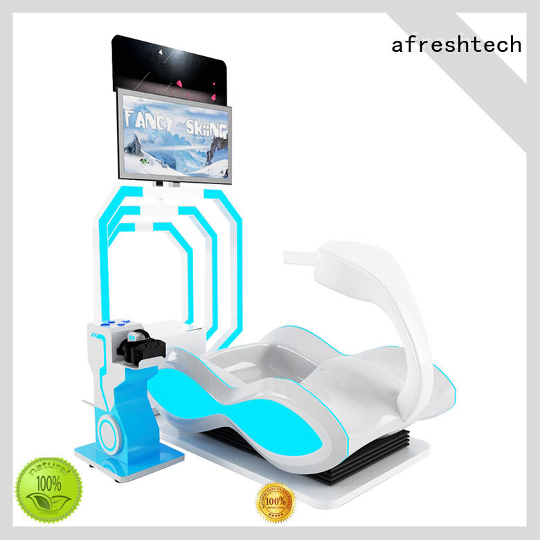 AfreshTech competitive vr racing chair realistic experience