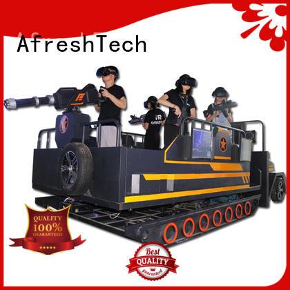 AfreshTech 3D surround sound 9d vr cinema different experience for shopping Malls