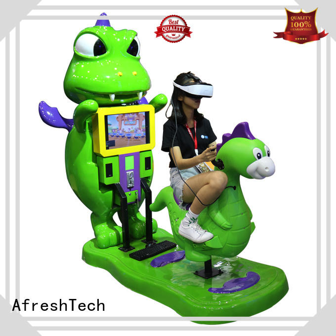 Interactive vr kids ride improve ability for museum